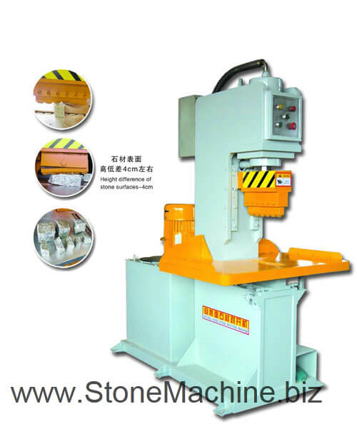 Cube-Stone-Splitting-Cutter-Machine