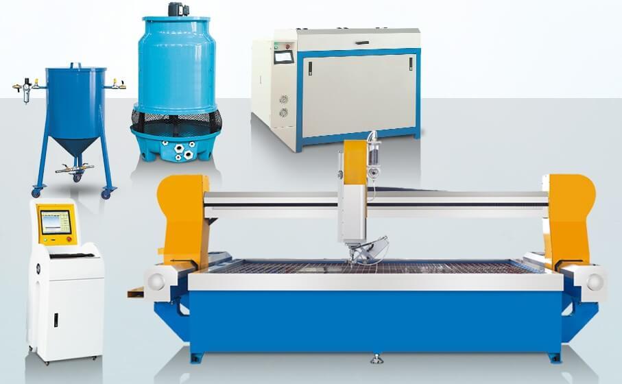 CNC Water Jet Cutting Machine | MosCut Stone Machine