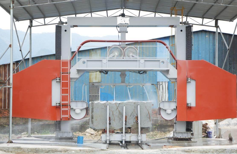 Multi Wire Saw Block Cutting Machine | MosCut Stone Machine